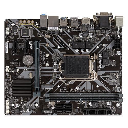 Материнская плата GIGABYTE H310M S2H 2.0, LGA 1151v2, Intel H310C, mATX, Ret цена и фото