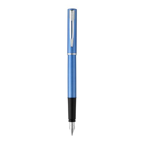 Ручка перьев. Waterman Graduate Allure (2068195) Blue F сталь нержавеющая подар.кор.