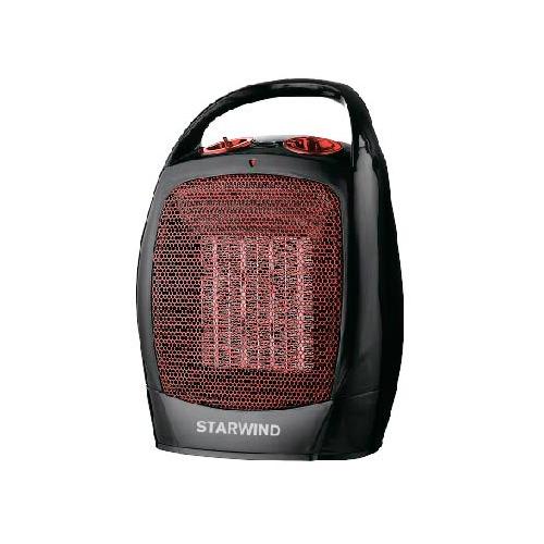 Тепловентилятор STARWIND SHV2001, 1600Вт, черный, красный