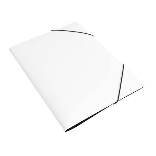 Папка на резинке Бюрократ DeLuxe DL510MILK A4 пластик кор.30мм 0.7мм молочный 10 шт./кор. папка на резинке бюрократ crystal cr510 a4 пластик кор 30мм 0 5мм ассорти 60 шт кор