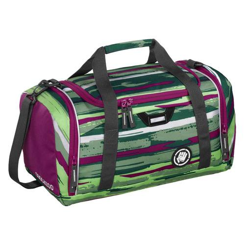 Сумка спортивная Coocazoo SporterPorter Bartik зеленый/розовый coocazoo рюкзак jobjobber2 bartik 00138718 зеленый розовый