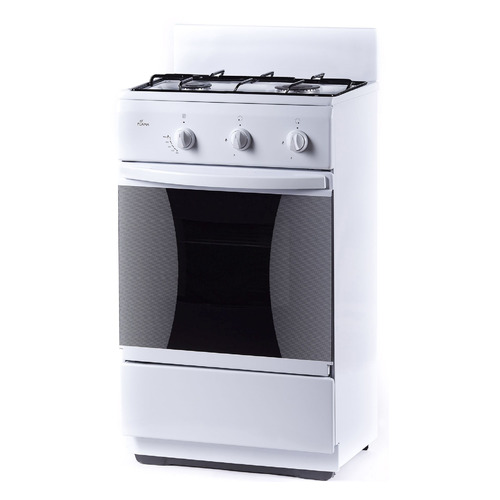 цена на Газовая плита FLAMA CG 32010 W, газовая духовка, без крышки, белый