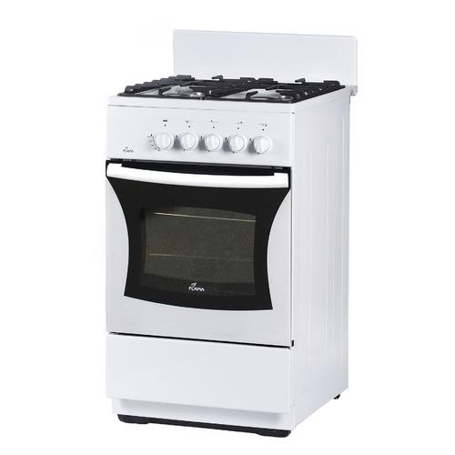Газовая плита FLAMA FG 24027 W, газовая духовка, белый цена и фото