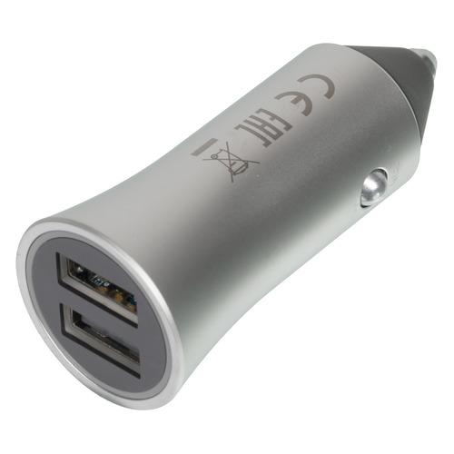 Автомобильное зарядное устройство XIAOMI Mi Car Charger Pro, 2.4A, серый зарядное