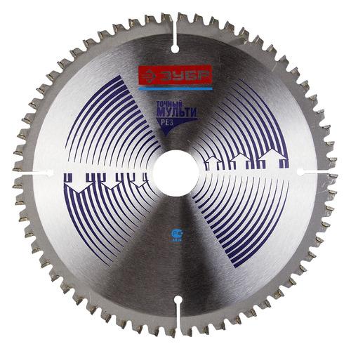 цена Пильный диск ЗУБР Точный-МУЛЬТИ рез усиленный, по алюминию, 190мм, 1.8мм, 30мм [36907-190-30-60]