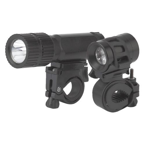 Велосипедный фонарь ЭРА VB-601, черный , 3Вт [б0029194]