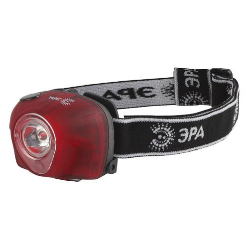 Налобный фонарь ЭРА GB-502, красный , 3Вт [б0036615]