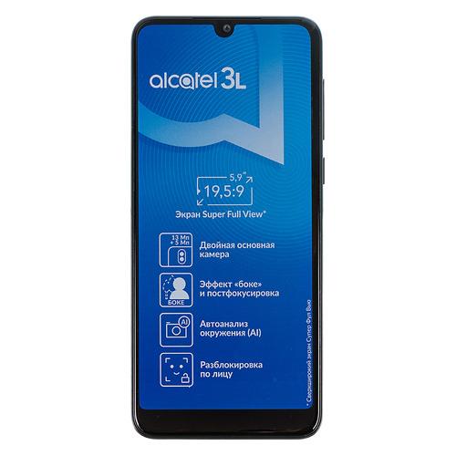 Смартфон ALCATEL 3L (2019) 16Gb, 5039D, черный