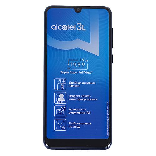 Смартфон ALCATEL 3L (2019) 16Gb, 5039D, синий
