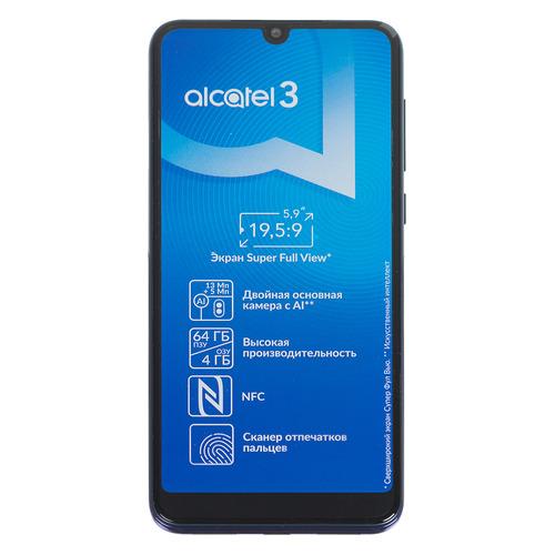 Смартфон ALCATEL 3 (2019) 64Gb, 5053K, синий