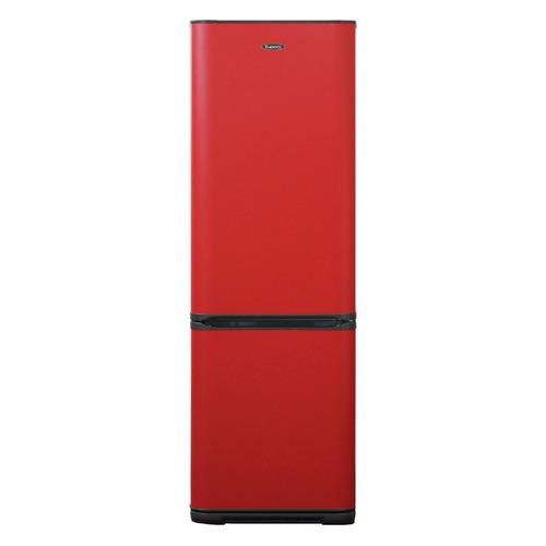 Холодильник БИРЮСА Б-H360NF, двухкамерный, красный