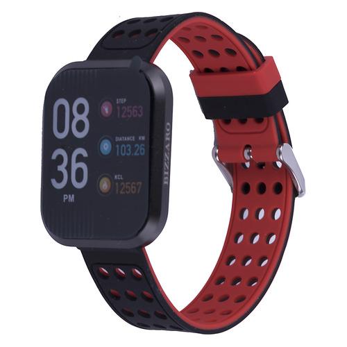 Смарт-часы REKAM Bizzaro F630, 1.3, черный/серебристый / черный [2202000010] умные часы mykronoz фитнес трекер zefit4hr 00 00000661 черный