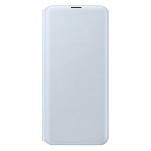 Чехол (флип-кейс) SAMSUNG Wallet Cover, для Samsung Galaxy A20, белый [ef-wa205pwegru] EF-WA205PWEGRU