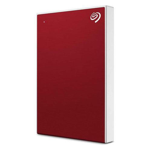 Внешний жесткий диск SEAGATE Backup Plus Slim STHN2000403, 2Тб, красный