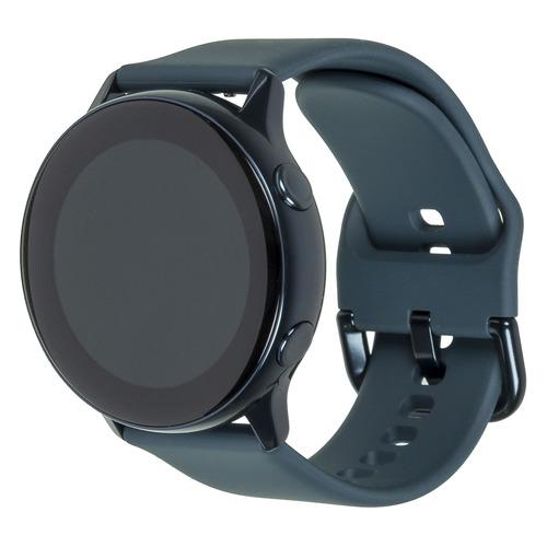 Смарт-часы SAMSUNG Galaxy Watch Active, 39.5мм, 1.1, зеленый / зеленый [sm-r500nzgaser]
