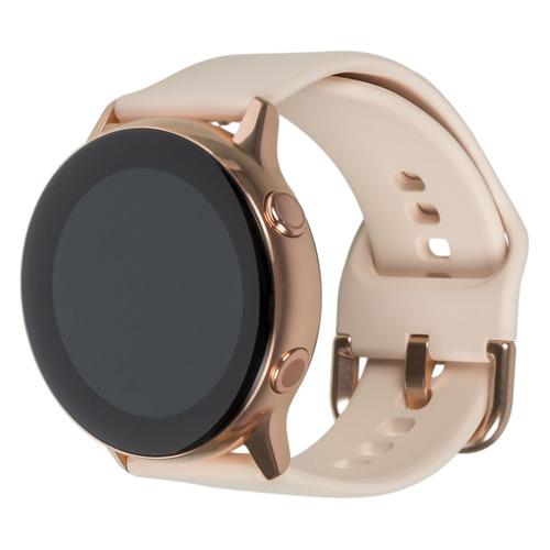 Смарт-часы SAMSUNG Galaxy Watch Active, 39.5мм, 1.1, розовое золото / розовое золото [sm-r500nzdaser]