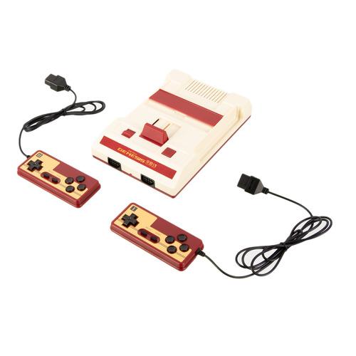 Игровая консоль RETRO GENESIS 300 игр, два проводных джойстика, 8 bit HD, белый/красный