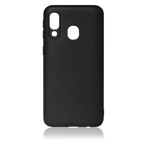 Чехол (клип-кейс) DF sColorCase-04, для Samsung Galaxy A40, черный [df scolorcase-04 (black)]  - купить со скидкой
