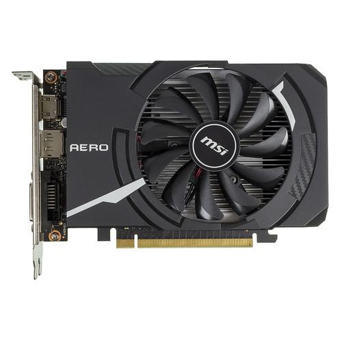цена на Видеокарта MSI nVidia GeForce GTX 1650 , GTX 1650 AERO ITX 4G OC, 4ГБ, GDDR5, OC, Ret