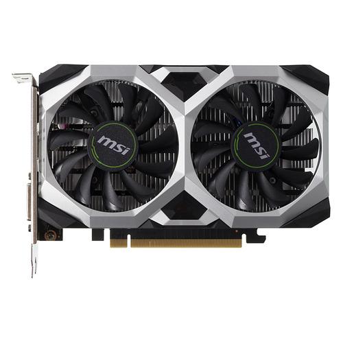 цена на Видеокарта MSI nVidia GeForce GTX 1650 , GTX 1650 VENTUS XS 4G OC, 4ГБ, GDDR5, OC, Ret