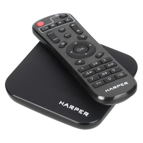 Фото - Медиаплеер HARPER ABX-332, черный коммутатор tp link ls105g 5 портовый 10 100 1000 мбит с