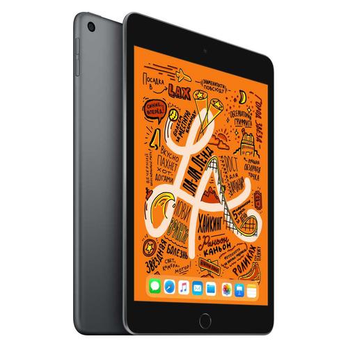 Фото - Планшет APPLE iPad mini 2019 64Gb Wi-Fi MUQW2RU/A, 2GB, 64GB, iOS темно-серый планшет apple ipad mini 2019 256gb wi fi muu32ru a 2gb 256гб ios темно серый