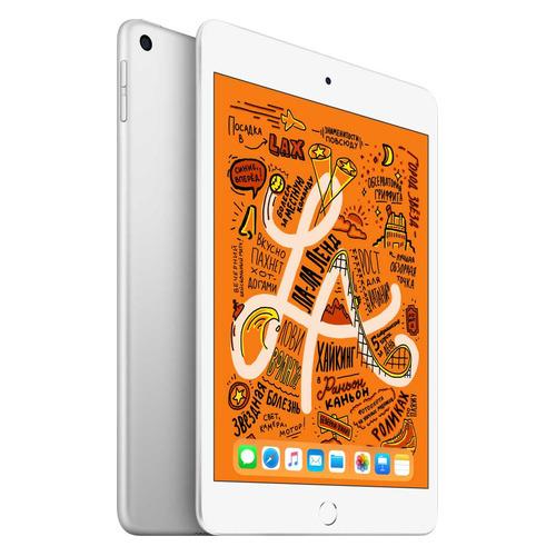 Фото - Планшет APPLE iPad mini 2019 256Gb Wi-Fi MUU52RU/A, 2GB, 256ГБ, iOS серебристый планшет apple ipad mini 2019 256gb wi fi muu32ru a 2gb 256гб ios темно серый