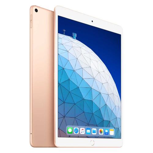 Планшет APPLE iPad Air 2019 256Gb Wi-Fi + Cellular MV0Q2RU/A, 3ГБ, 256ГБ, 3G, 4G, iOS золотистый смартфон doogee x50l золотистый 5 16 гб lte wi fi gps 3g bluetooth