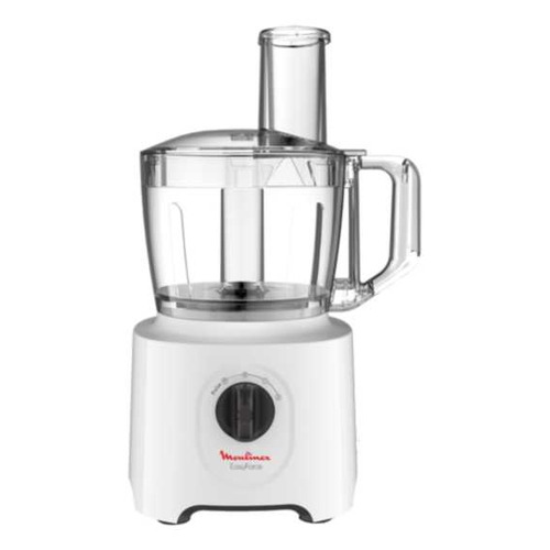 Кухонный комбайн MOULINEX Easy Force FP244110, белый кухонный комбайн moulinex qa500