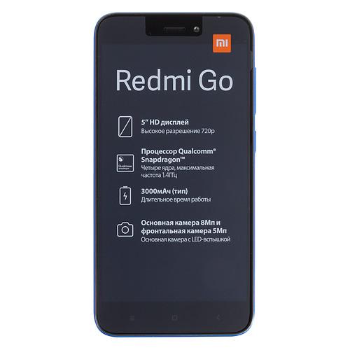 Смартфон XIAOMI Redmi GO 16Gb, синий 22732