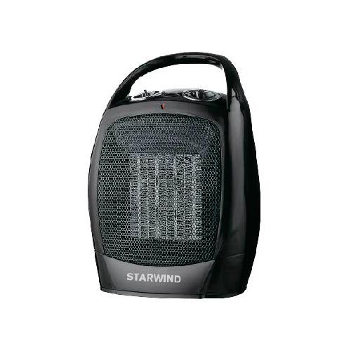 Тепловентилятор STARWIND SHV2005, 1600Вт, черный, серый