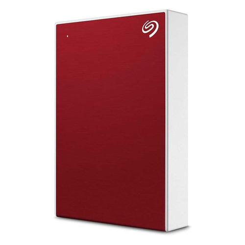 Фото - Внешний жесткий диск SEAGATE Backup Plus STHP4000403, 4Тб, красный внешний жесткий диск 3 5 4000gb seagate stel4000200 usb3 0 backup plus hub черный