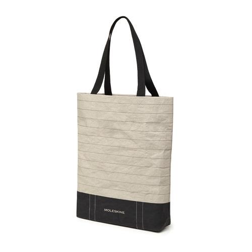 Фото - Сумка Moleskine GO SHOPPER RULED (ET9GOSP01) 37x40x7.5см бумага крафтовая серый/черный сумка iriedaily original shopper black 700