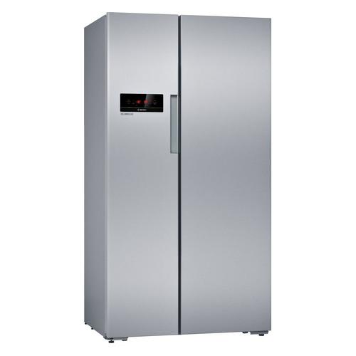 Холодильник BOSCH KAN92NS25R, двухкамерный, серебристый холодильник bosch kgn39xg34r двухкамерный золотистый