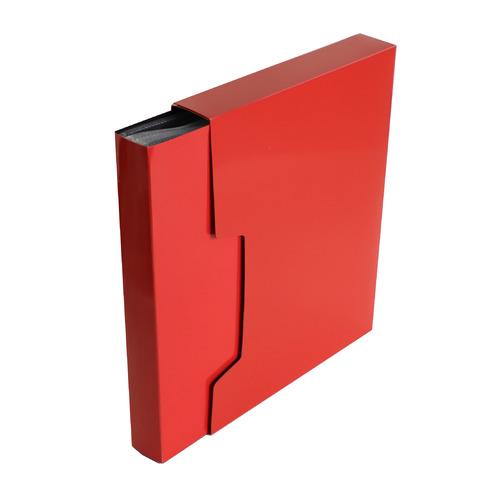 Папка с 100 прозр.вклад. Бюрократ DeLuxe DLVBOX100RED A4 пластик 0.7мм красный в коробе 14 шт./кор. игрушка деревянная буратино каталка ежик в русс кор в кор 100шт