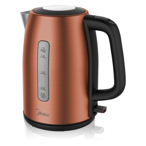 цена на Чайник электрический MIDEA MK-8059, 2200Вт, бронзовый