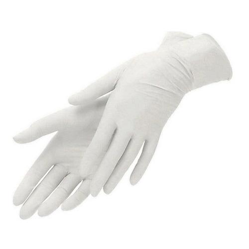 Перчатки одноразовые, размер: M, 100шт, латекс [102-329]