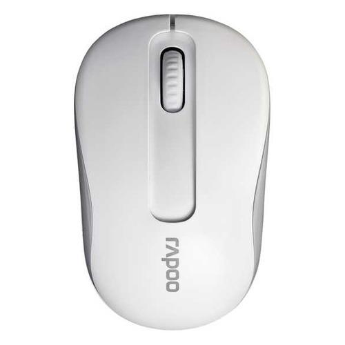 лучшая цена Мышь RAPOO M10 Plus, оптическая, беспроводная, USB, белый [17299]