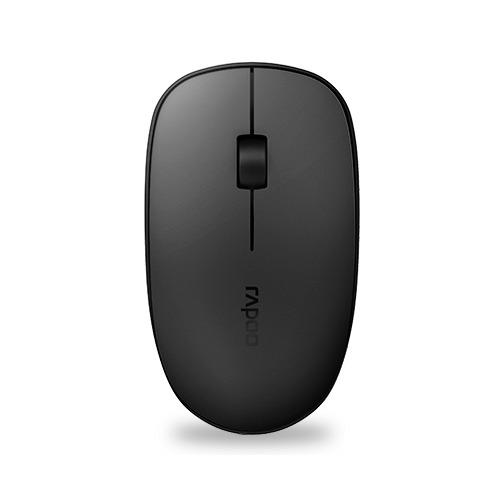 лучшая цена Мышь RAPOO M200 Plus, оптическая, беспроводная, USB, черный [18694]