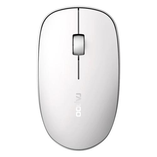 лучшая цена Мышь RAPOO M200, оптическая, беспроводная, USB, белый [18105]