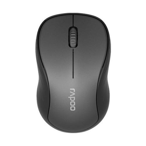 Мышь RAPOO M260, оптическая, беспроводная, USB, темно-серый [18107] rapoo x1800 usb black