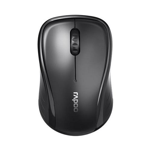лучшая цена Мышь RAPOO M280, оптическая, беспроводная, USB, черный [18044]