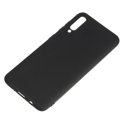 Чехол (клип-кейс) DEPPA Gel Color, для Samsung Galaxy A50, черный [86657/87193]