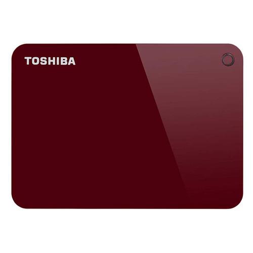 Фото - Внешний жесткий диск TOSHIBA Canvio Advance HDTC940ER3CA, 4ТБ, красный toshiba canvio advance usb 3 0 2тб hdtc920er3aa красный