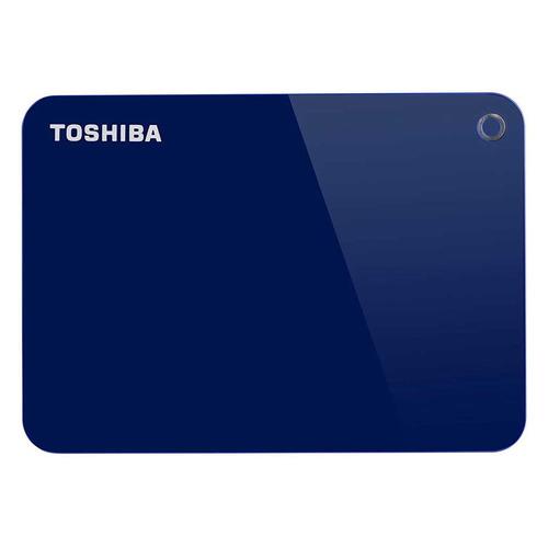 Фото - Внешний жесткий диск TOSHIBA Canvio Advance HDTC940EL3CA, 4ТБ, синий внешний жесткий диск toshiba canvio basics hdtb440ek3ca 4тб черный