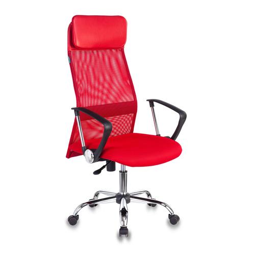 Кресло руководителя БЮРОКРАТ KB-6N, на колесиках, сетка [kb-6n/sl/r/tw-97n] кресло руководителя бюрократ kb 9 на колесиках сетка красный [kb 9 r tw 97n]