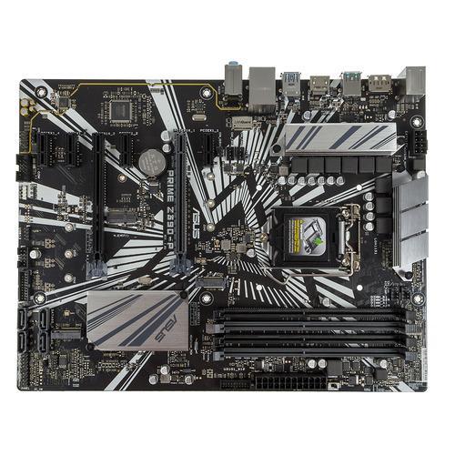 Материнская плата ASUS PRIME Z390-P, LGA 1151v2, Intel Z390, ATX, Ret цена и фото