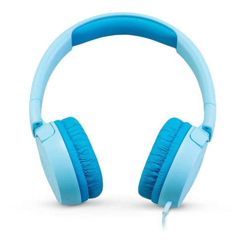 Наушники JBL JR300, 3.5 мм, накладные, синий [jbljr300blu] jbl jr300 blue наушники
