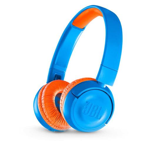 Наушники JBL JR300 BT, Bluetooth, накладные, синий [jbljr300btuno] jbl jr300 blue наушники