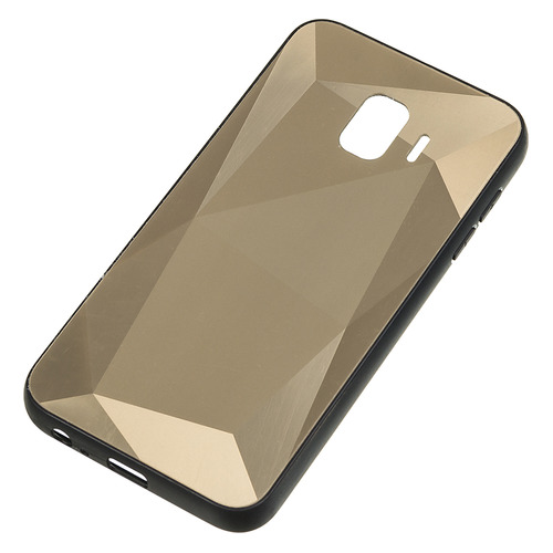 Чехол (клип-кейс) GRESSO Даймонд, для Samsung Galaxy J2 Core, золотистый [gr17dmn006]